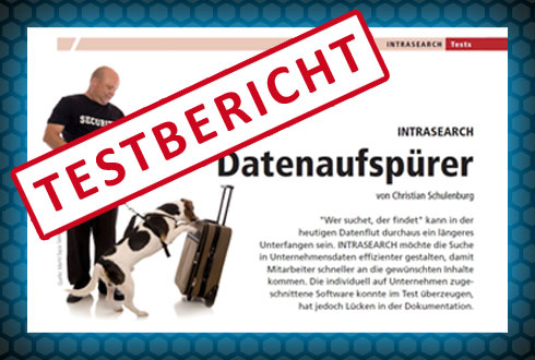 Testbericht INTRASEARCH